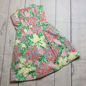 Lilly Pulitzer Blossom Lilly Day Dress Size 0